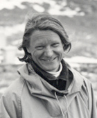 Janet Thomson in Antartica, 1985
