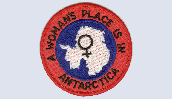 Patch for an anorak bought by Janet Thomson at New Zealand's Scott Base in Antarctica, 1984