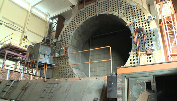 Wind tunnel at former RAE Farnborough