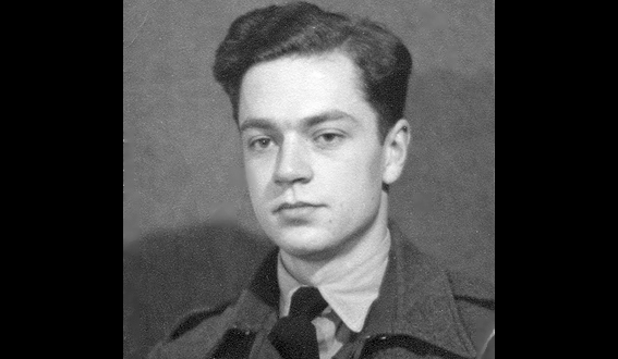 John Kington serving as a National Serviceman in RAF, 1948-1950