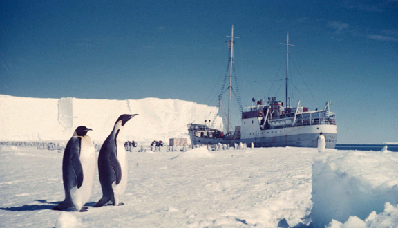 Royal Society Antarctic Expedition Advance Party to Vahsel Bay, Antarctica 1955-1957