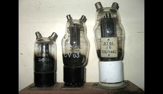 1940s electronic valves used in radar