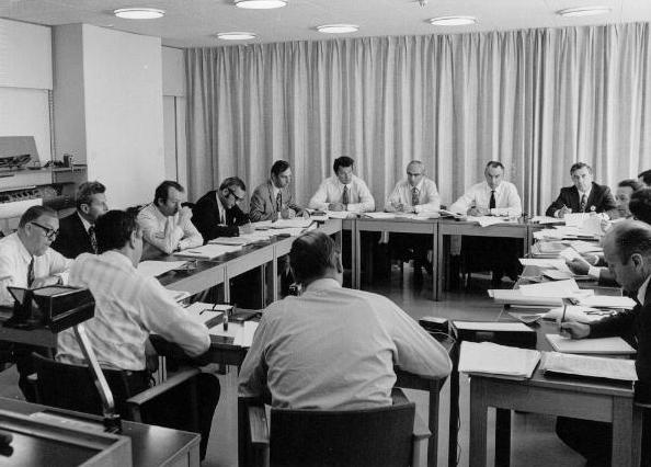 Meeting about European aero engine cooperation, 1960s
