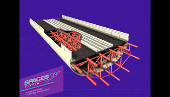 The SPACES bridge concept patented by PRH, June 1999