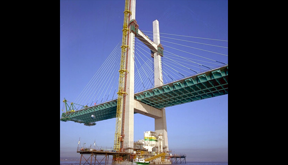 Second Severn Crossing under construction