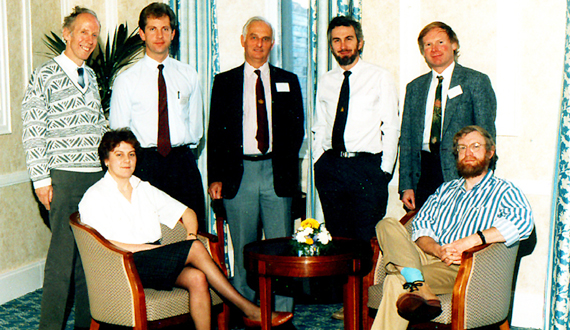 Group at first IPCC meeting, 1988