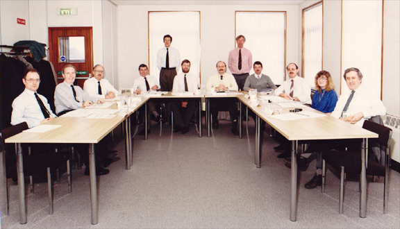 'Total Quality team workshop', Stevenage, 1991