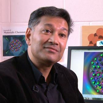Professor Saiful Islam in his office at the University of Bath.